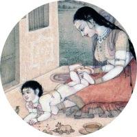 masaje para bebes Shantala
